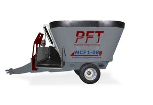 new PFT MCF 1-08 feed mixer